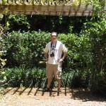 Zoli a Sunken Gardenben