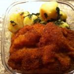 Laposhusi + petrezselymes krumpli