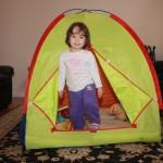 A sátor.